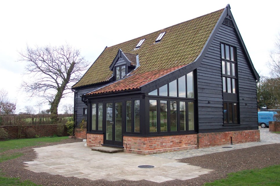 Conversions and extensions building work in for Oak framed house designs